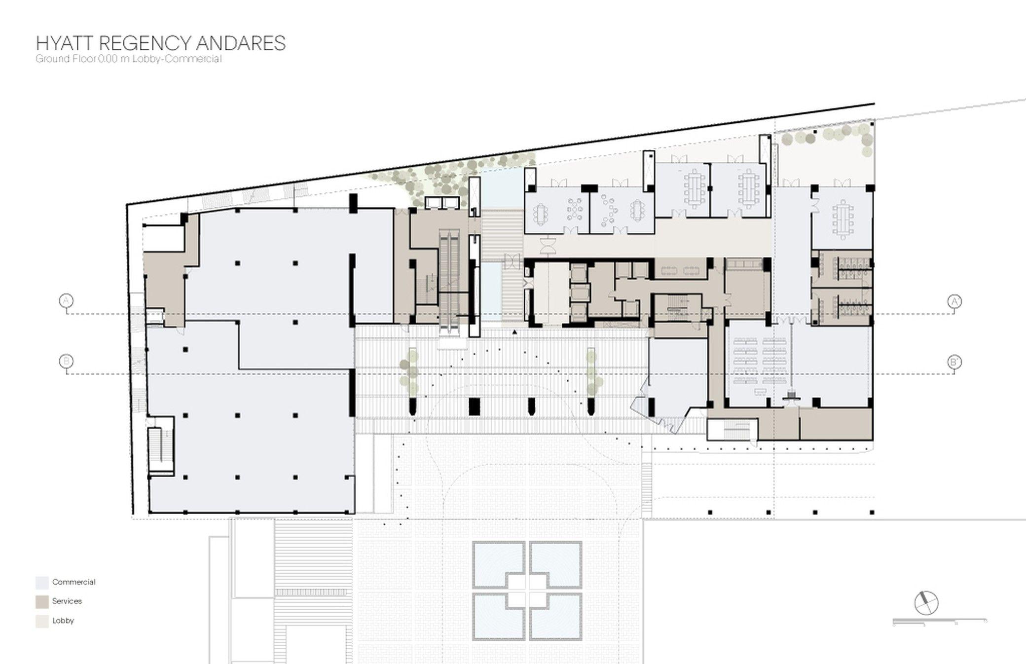 Hotel Hyatt Regency Andares Sordo Madaleno Arquitectos Arch2o Com Hotel Floor Plan Hotel Floor Hyatt Hotels
