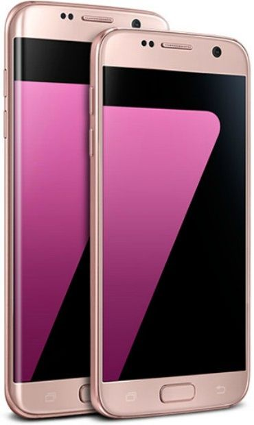 Rose Pink Gold Samsung Galaxy S7 Edge, compare the cheapest