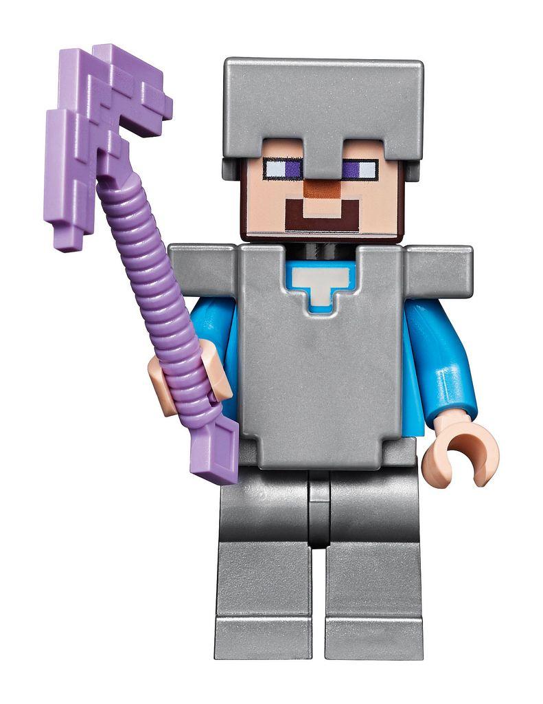 NEW LEGO STEVE FROM SET 21116 MINECRAFT MIN009