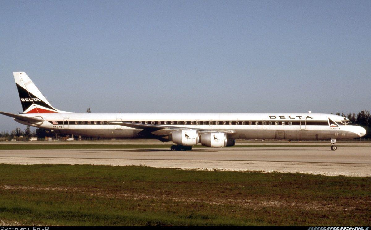 Douglas DC871 Delta Air Lines Aviation Photo