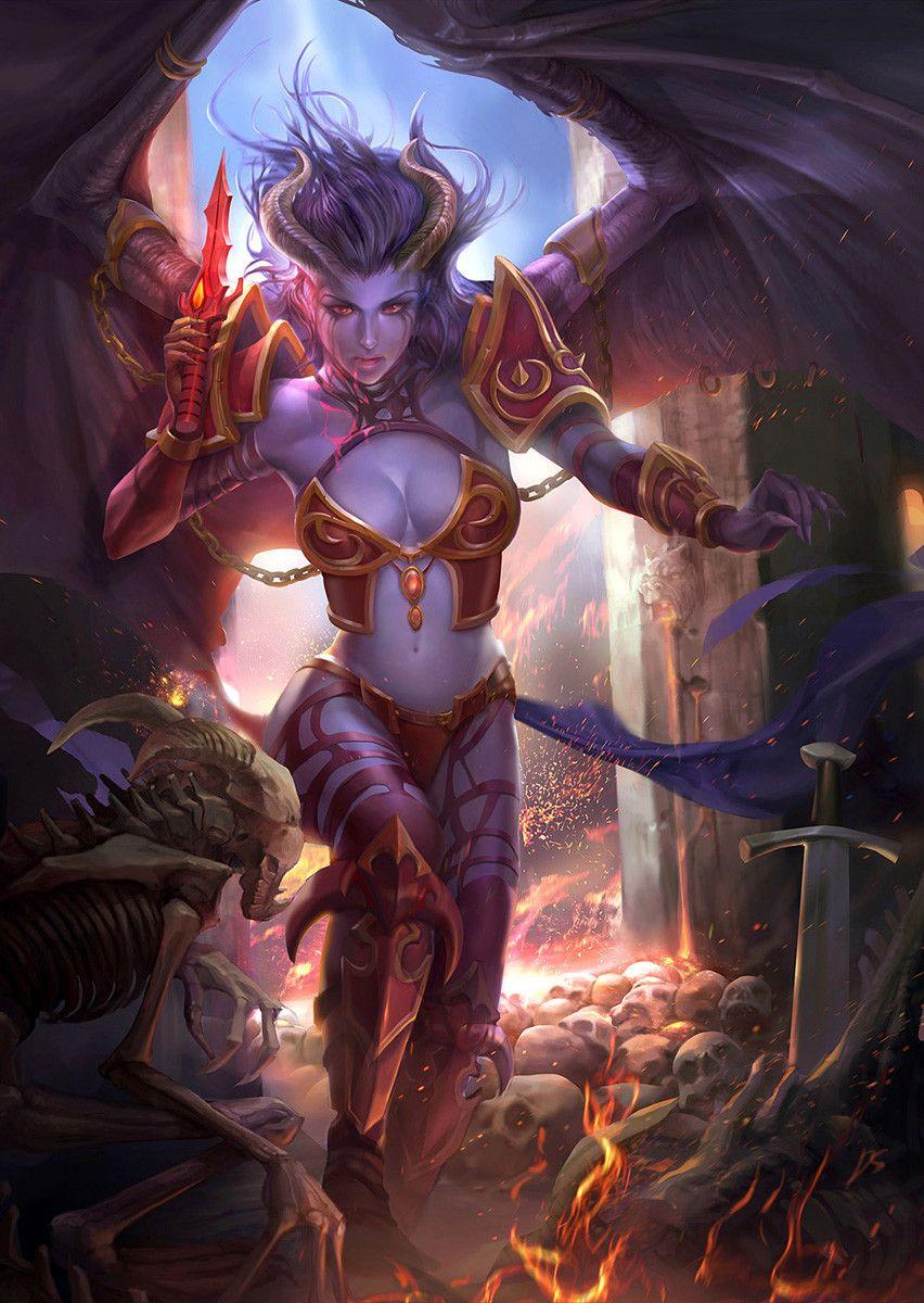 Queen Of Pain Wallpaper : queen, wallpaper, Characters
