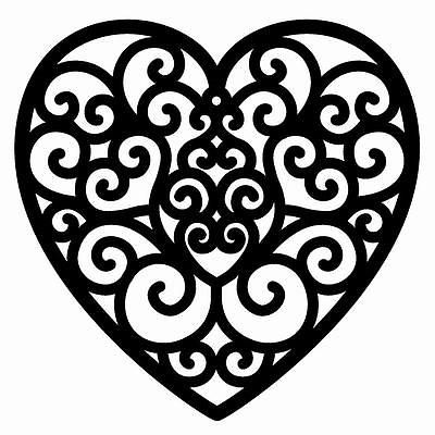 chocolate filigree templates - image result for heart filigree design chocolate