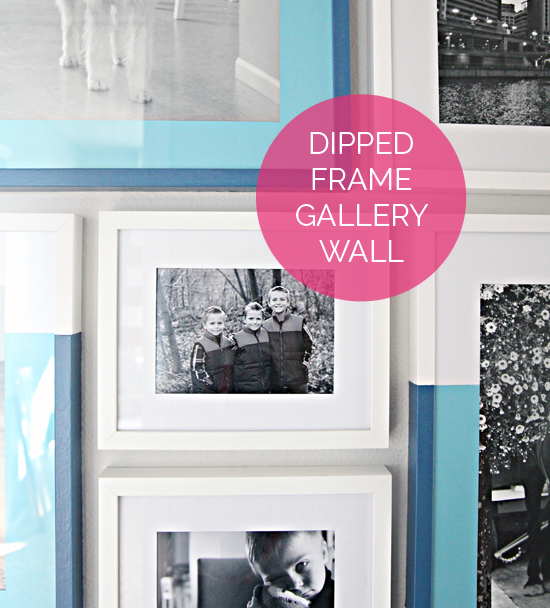 42 Dipped Frame Gallery Wall Nice Ideas Gallery Wall Frames