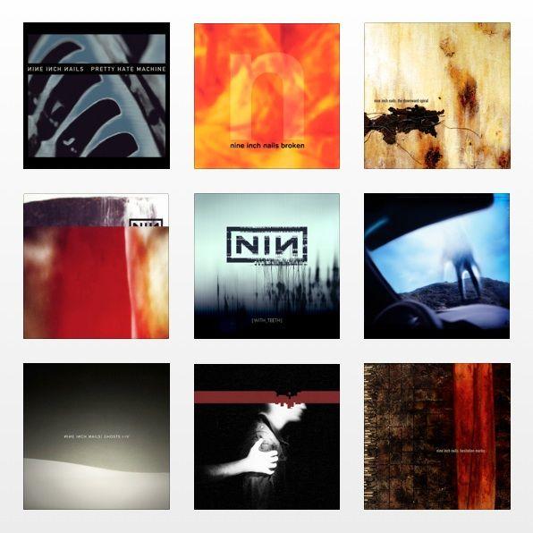 Nine Inch Nails Album Covers Nineinchnails Albumcovers Albums