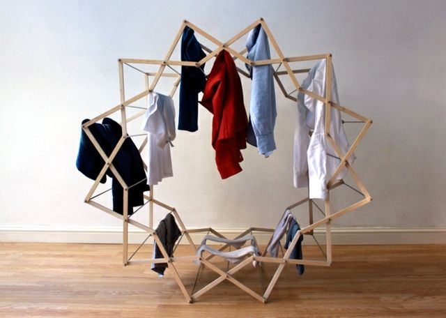 Compact Dryers Asteroid Perfect For Small Apartment Clothes Drying Racks Clothing Rack Clothes Horse