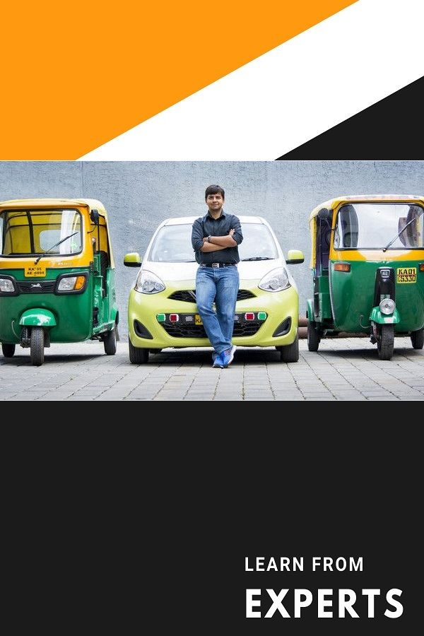 Aggarwal is the founder of Ola which competes against Uber in the Indian market. His business is successfully growing and Ola serves more than 1000 cities in India.