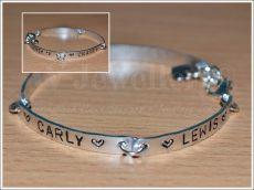 Personalised Link Plate Bracelet