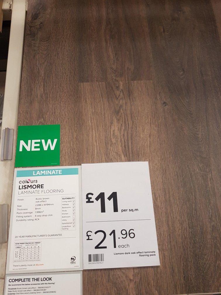 Lismore Rustic Brown Oak Effect From Bq Snug Fittings Pinterest