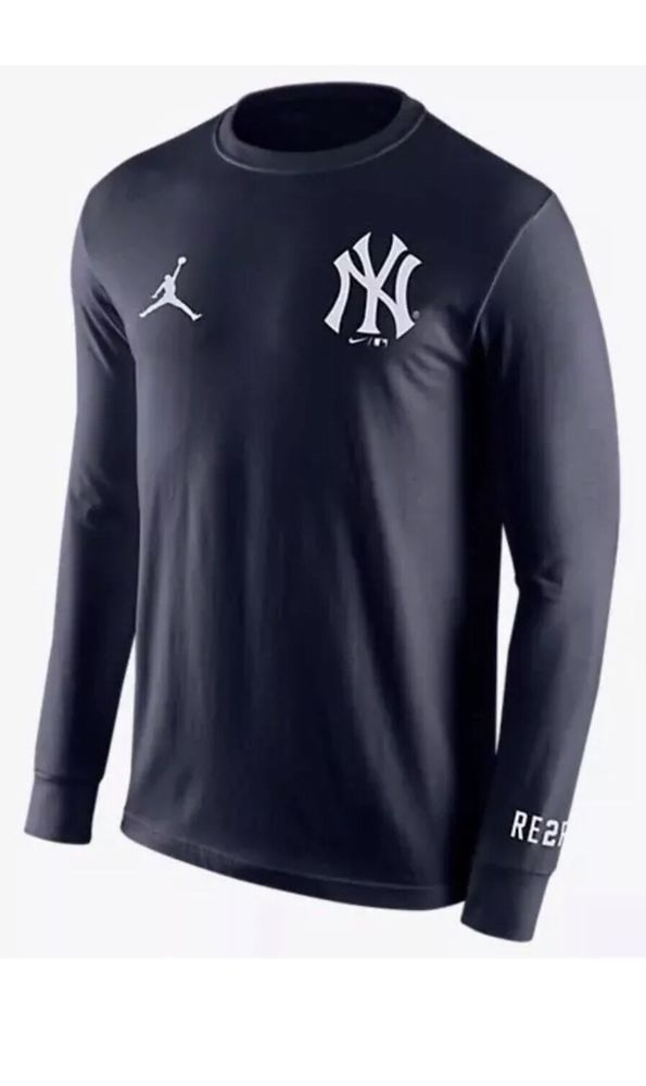Nike Air Jordan Derek Jeter RE2PECT NY YANKEES LOGO Shirt AJ0962-419 Men s  2XL  Nike  ShirtsTops 8745b9131ff