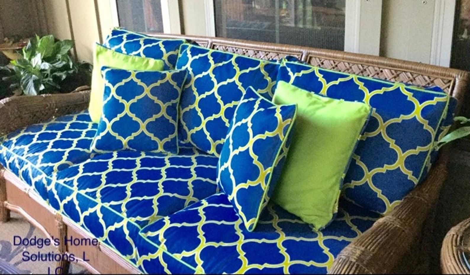 Custom Cushion Covers with Zipper Cushion Replacement