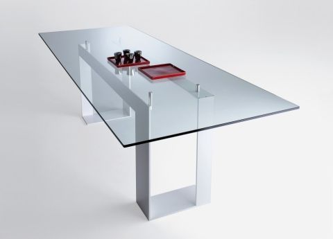 Modern Glass Kitchen Table modern glass table, modern glass table, brilliant clear oval