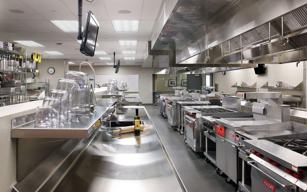 Kirkwood Hotel Teaching Kitchen Lemon Kitchen Decor Hotel Kitchen Kitchen Layout
