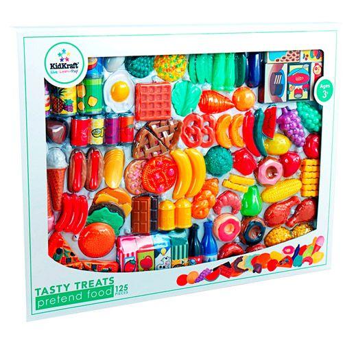 Play Food Set Toys : Kidkraft tasty treats piece pretend food play set