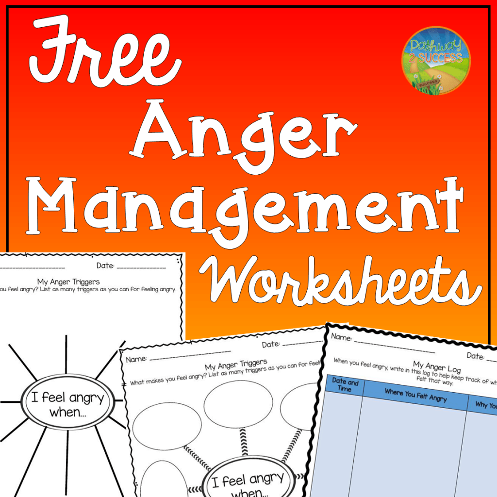 Anger Management Worksheets In