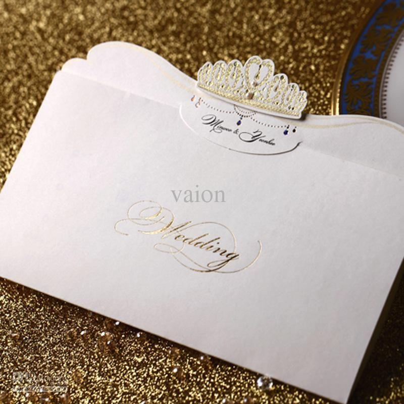 Wholesale Wedding Invitations - Buy Fast Shipping Royal Wedding ...