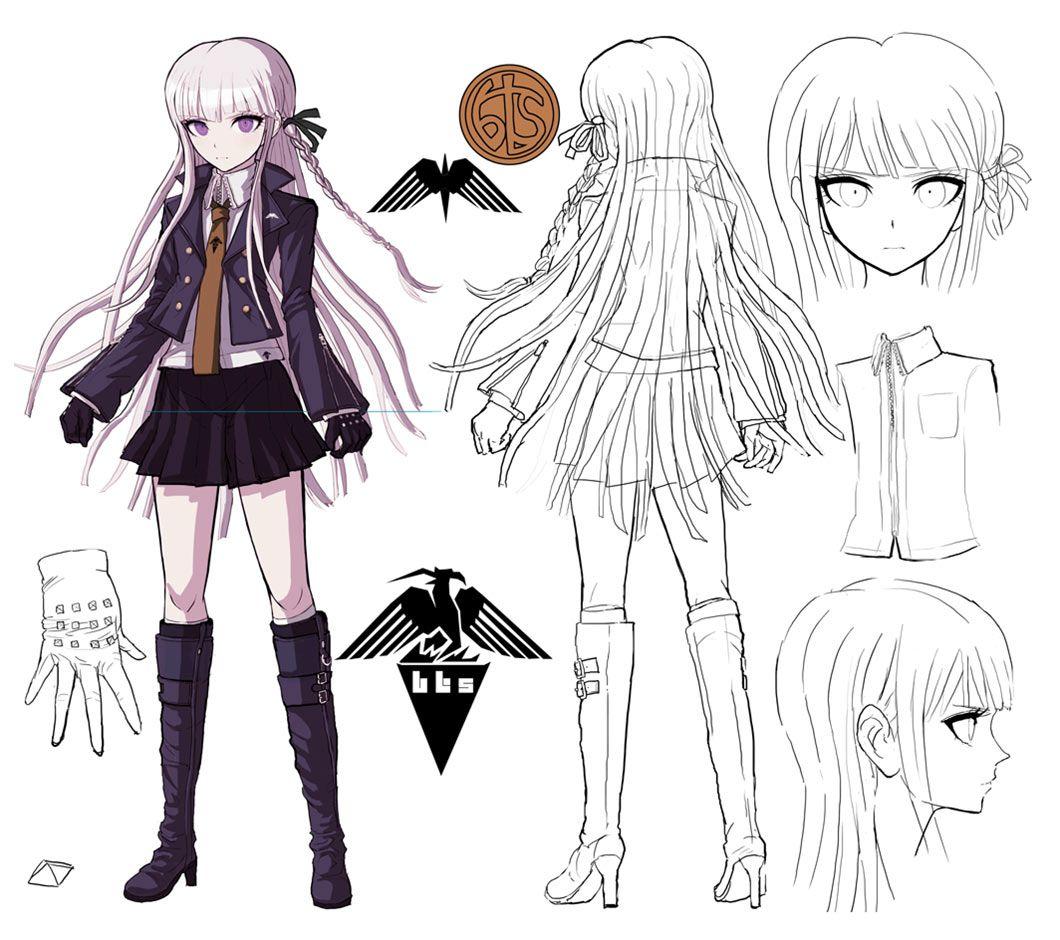 Kyoko Kirigiri Concept Artwork Danganronpa Trigger Happy Havoc Art Gallery Danganronpa Danganronpa Characters Kyoko