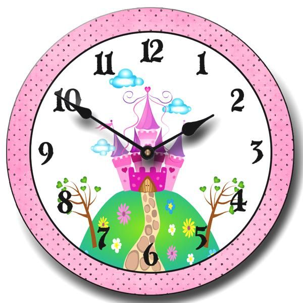 Castle Clock To Bring The Dreamy Effect Into The Room Http Www Clocksaroundtheworld Com Product Jtc Prin2 Clock Clock Face Gifts For Kids