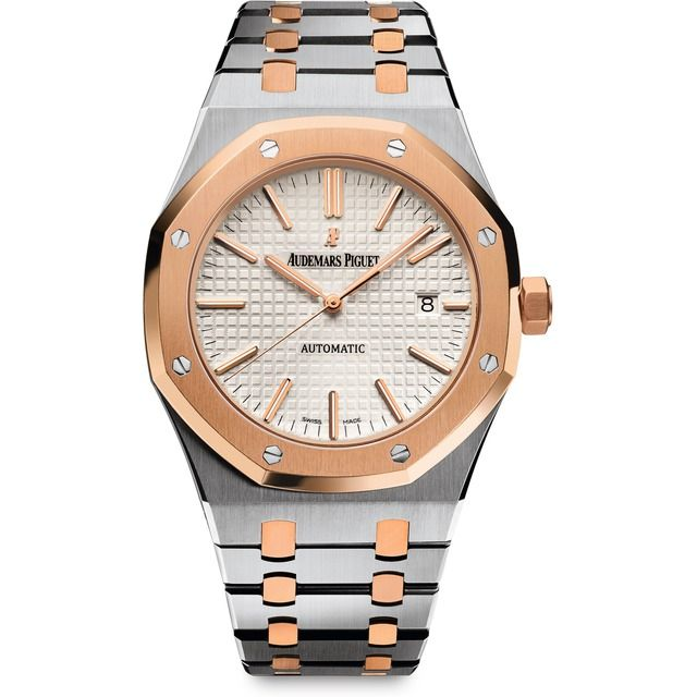 Audemars Piguet Royal Oak Automatic Steel and Pink Gold 15400SR.OO.1220SR.01