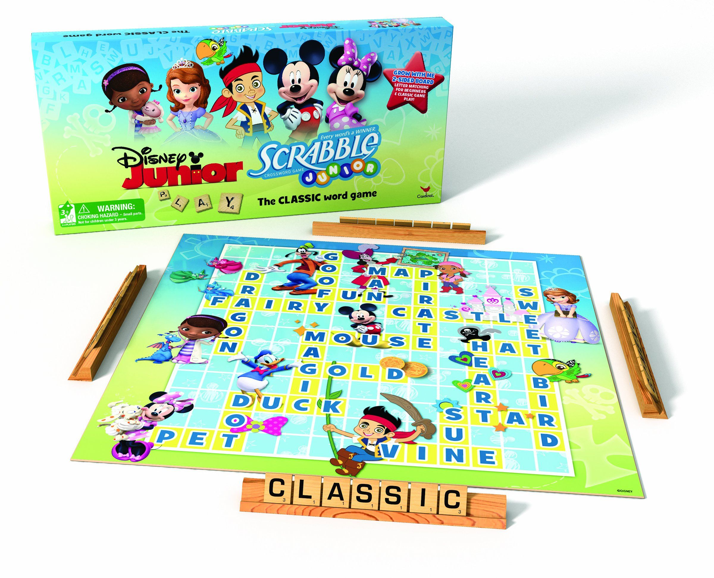 Disney Junior Scrabble Board Game 13 00