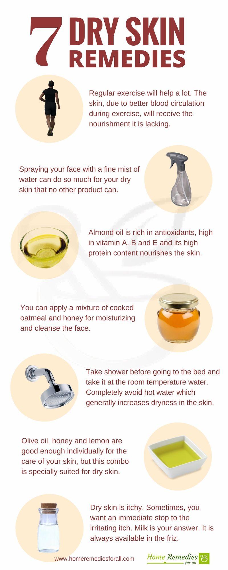 7 Best Natural Home Remedies For Dry Skin Mit Bildern Trockene