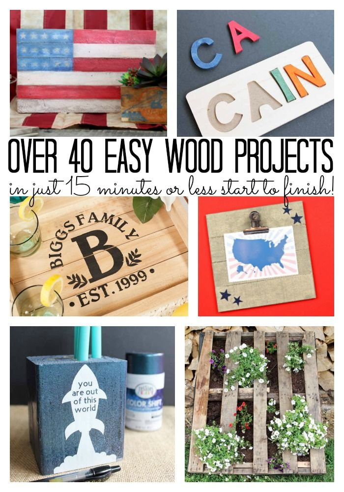 Wood Craft Ideas That Take 15 Minutes Or Less The Group Board On