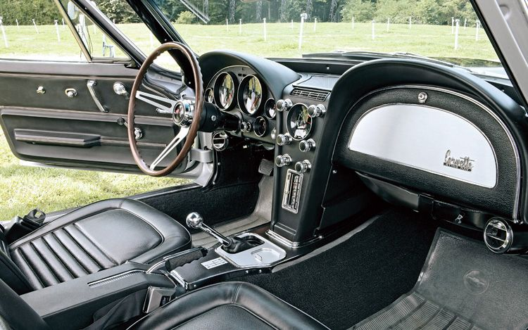 Corvette Interior View Classic Cars Post War