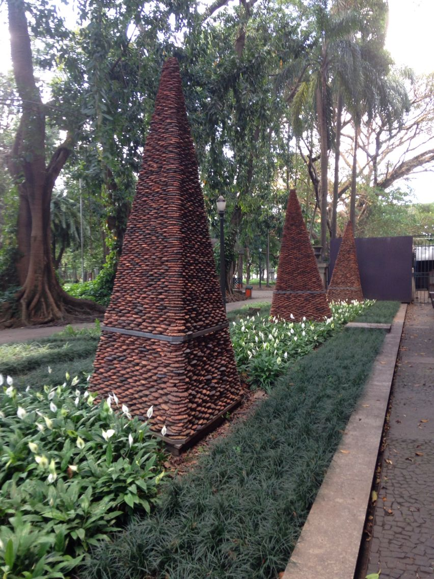 Jardim da Pinacoteca de São Paulo