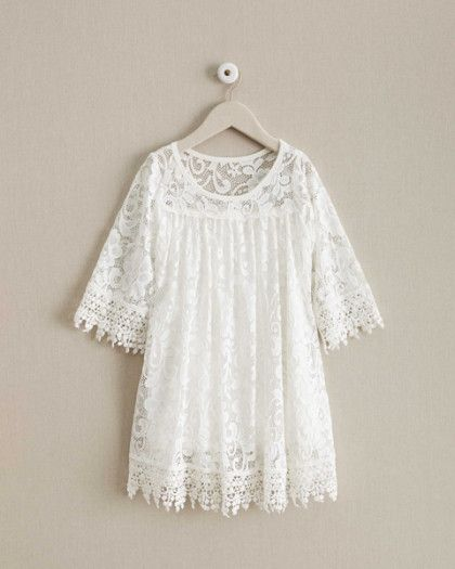 49dfac7cc Girls Dreamy Lace Dress