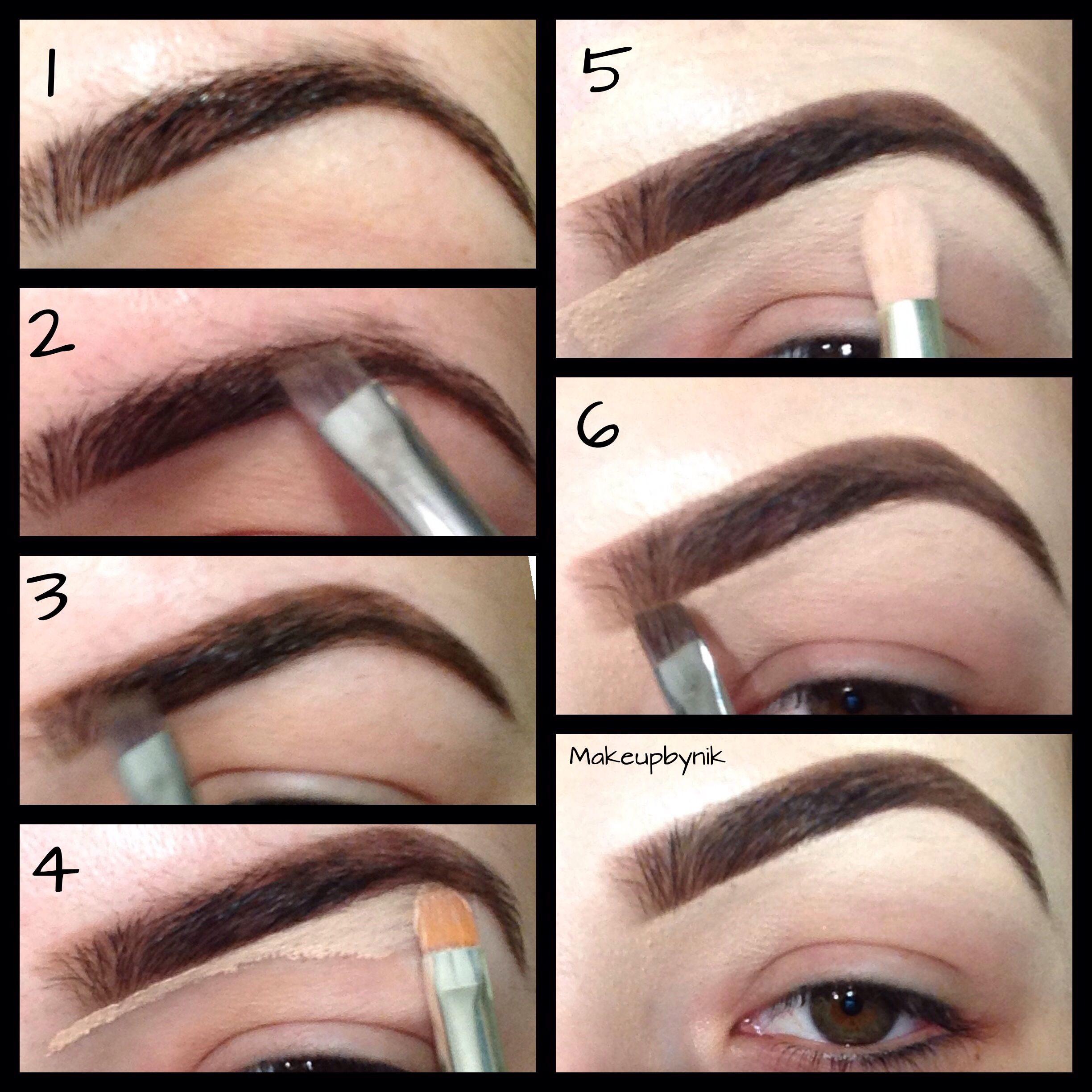 Tutorial using anastasia beverly hills dip brow in chocolate eyebrow tutorial 7 this too baditri Images