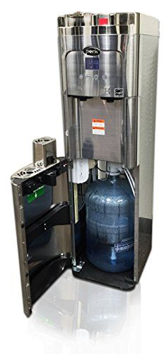 Coffee Maker Water Cooler K Cup Compatible A True Stainless Steel Water Dispenser With Bottom Loading Self Cleani Water Dispenser Coffee Maker Steel Water