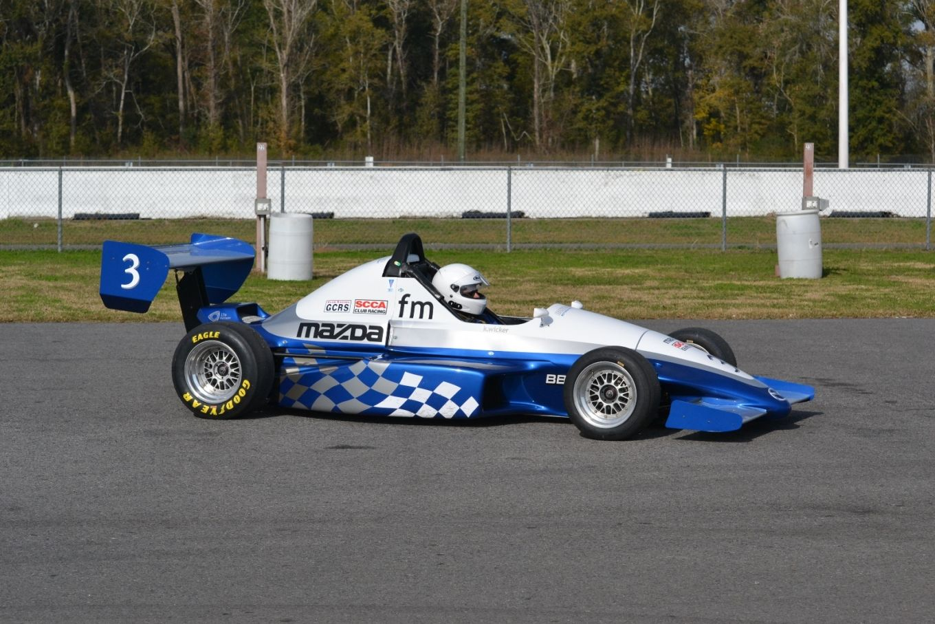 own and race an open wheel formula mazda car
