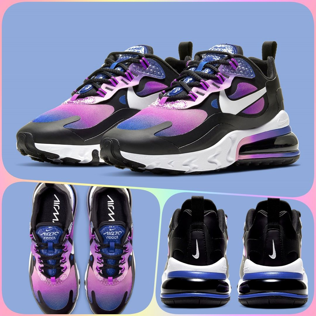 Nike Air Max 270 React Bubble Pack In 2020 With Images Nike