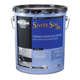 Shop Black Jack 4 75 Gallon Aluminum Reflective Roof Coating 1 Year Limited Warranty At Lowes Com Roof Coating Aluminum Roof Roof