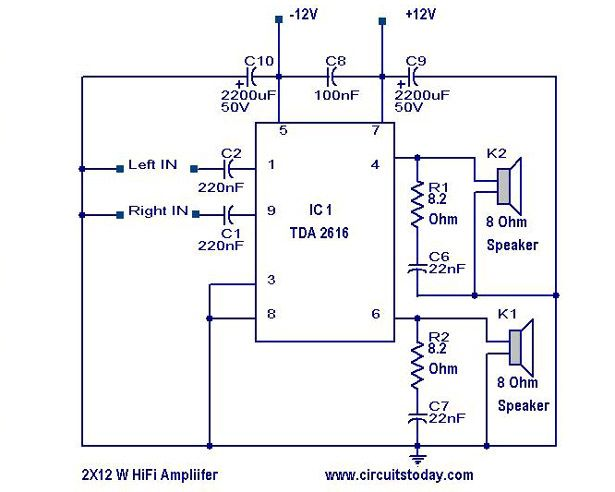 2fb7dbb9bb93d784dfb1b20263a31dc6 hi fi amplifier elektronik pinterest circuits, hifi amplifier
