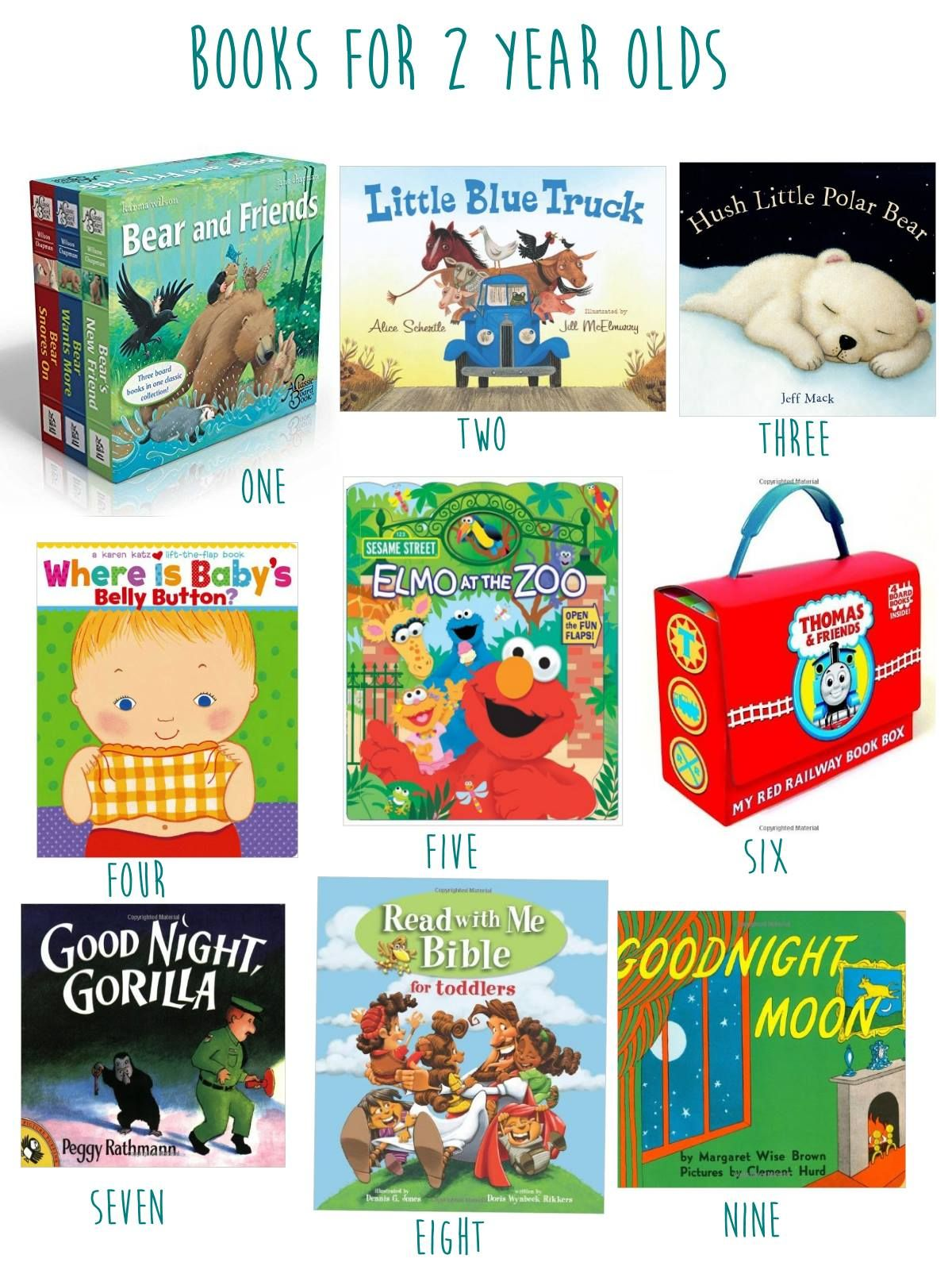 2 Year Old Toy Guide Books
