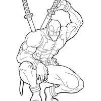 Resultado De Imagem Para Como Desenhar Deadpool Com Imagens