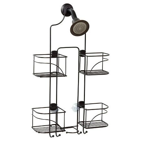 Zenna Home Expandable Rust Resistant Shower Head Caddy Target