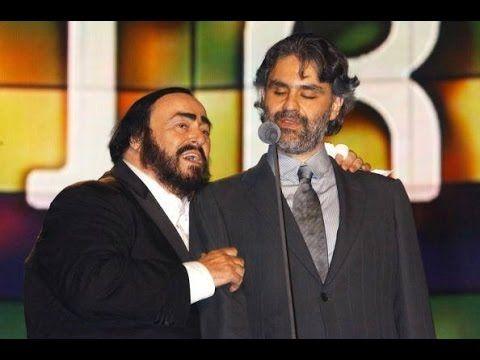 Andrea Bocelli And Luciano Pavarotti A Marechiare Uploaded On