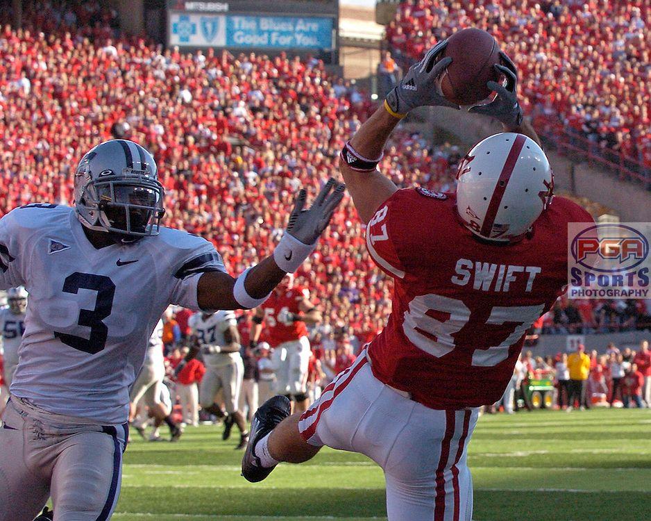 Nebraska Wide Receiver Nate Swift Wide receiver