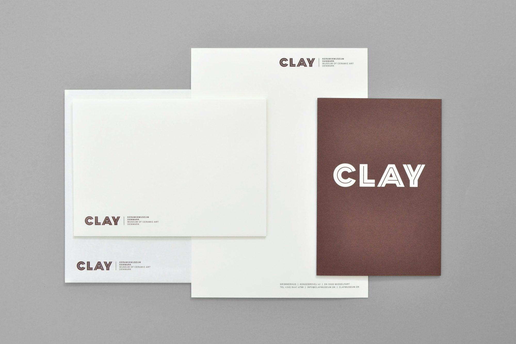 CLAY – Museum Of Ceramic Art Denmark Studio Claus Due Graphic