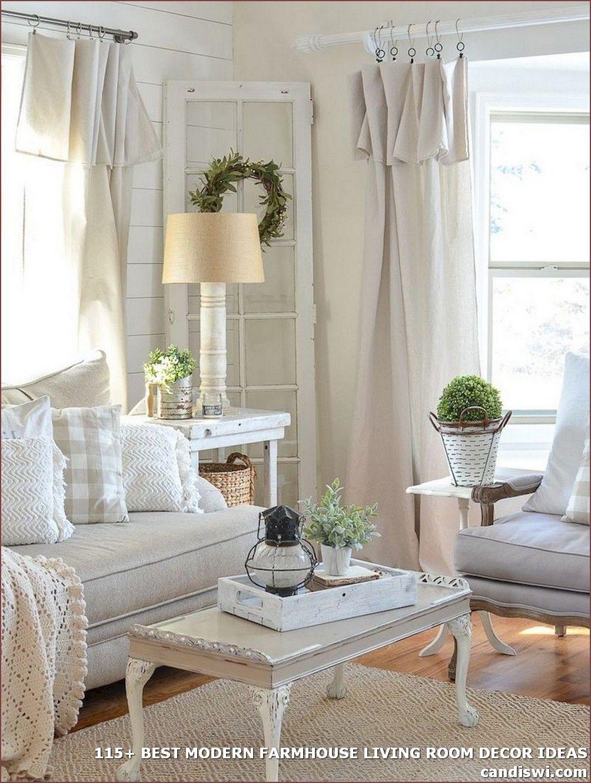 115 Best Modern Farmhouse Living Room Decor Ideas Tirai Ruang Tamu Dekorasi Ruang Tamu Ruang Tamu Pedesaan Living room drapes ideas