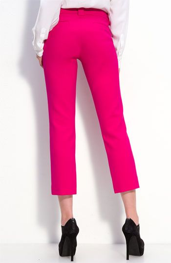 i love these pink pants - Paige Gilmore pants @ Nordstroms
