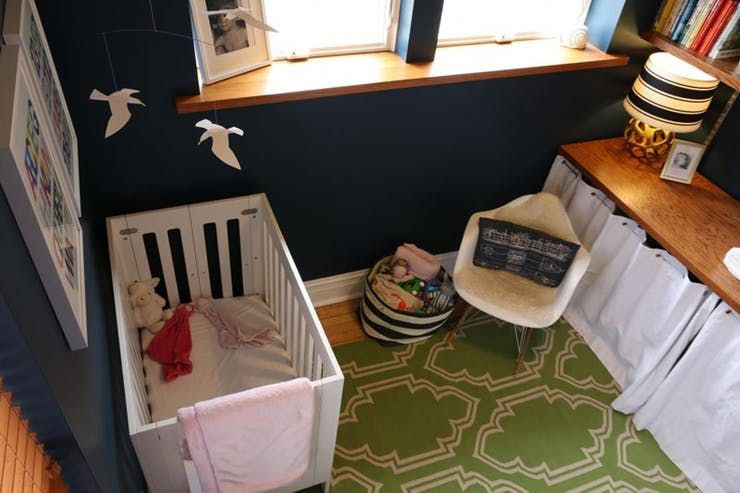 A Gender Neutral And Budget Friendly Office Turned Nursery Apartment Therapy