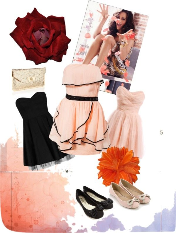 """""""flower girl"""" by theitmoment ❤ liked on Polyvore"""