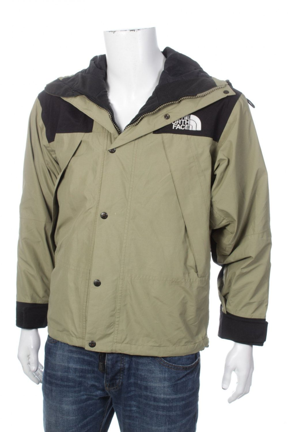 Vintage 90s The North Face Mountain Guide Gore Tex Jacket Beige Black Size S Gore Tex Jacket The North Face Gore Tex [ 1500 x 1000 Pixel ]