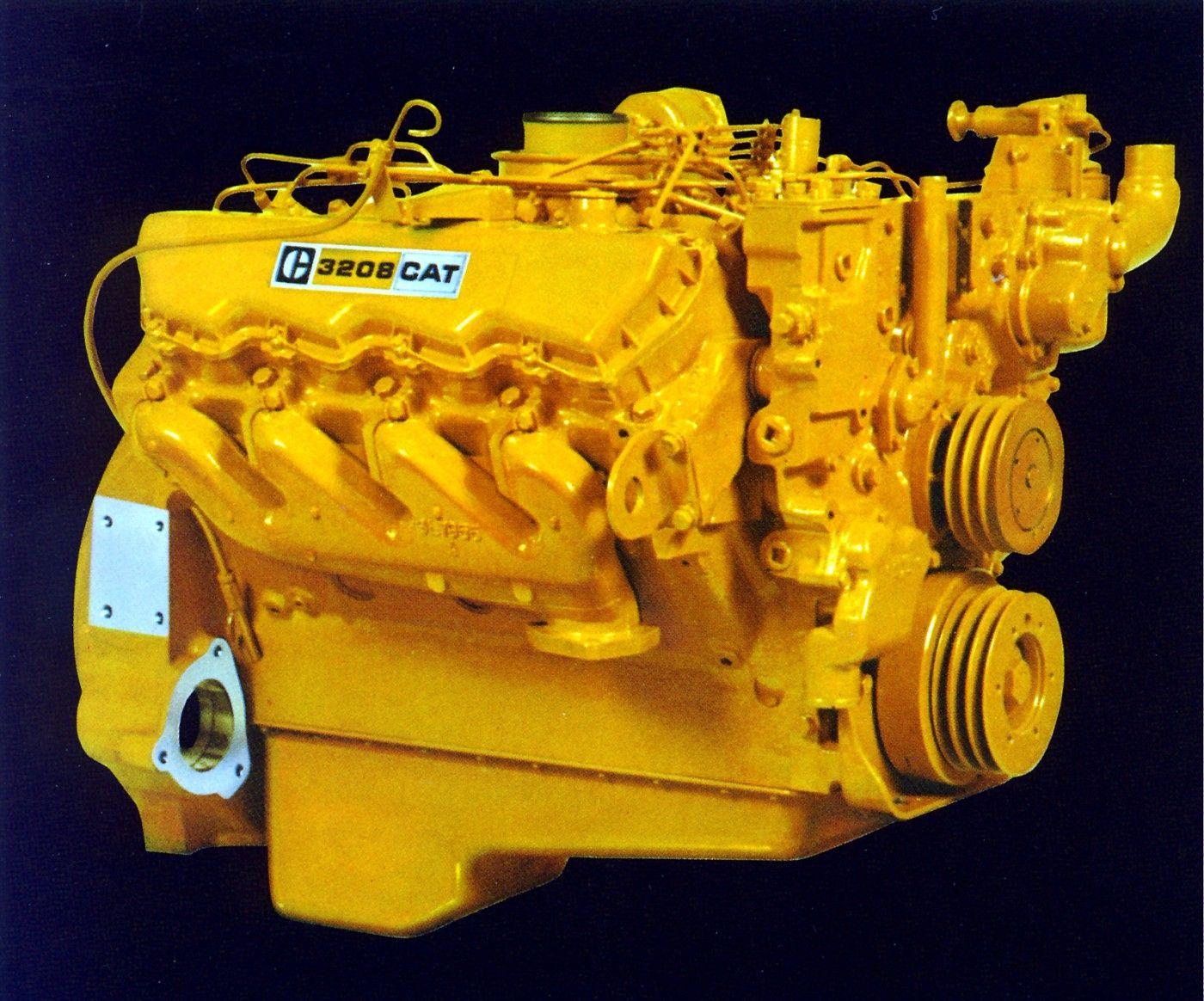 """Caterpillar """"3208"""" V-8 diesel engine. Diesel Vehicles, Diesel Cars,"""