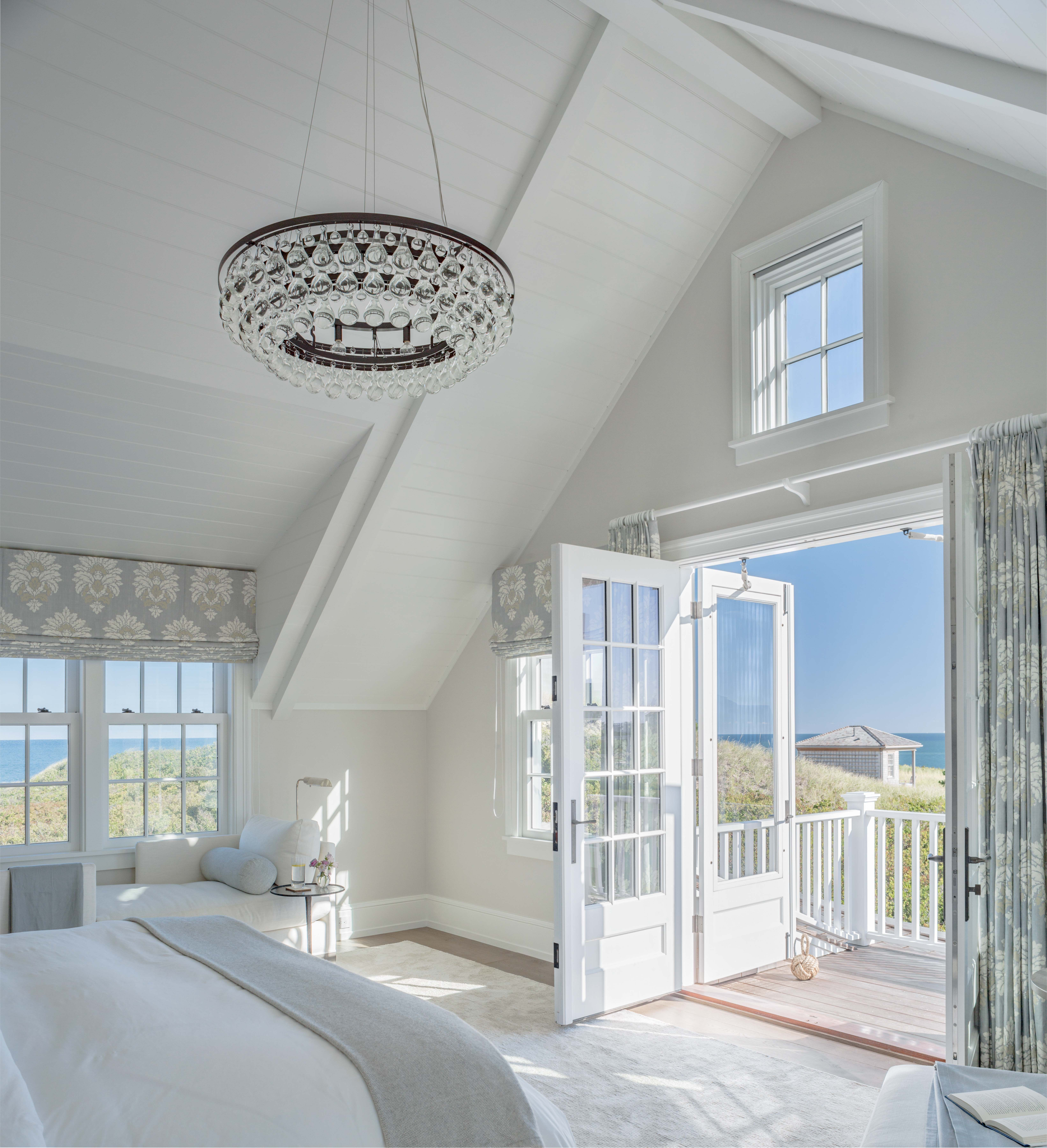 East Facing Guest Bedroom In Coastal Vacation Home Beachy