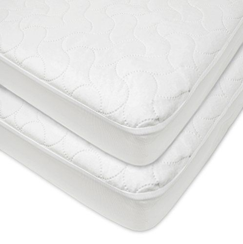 Crib Mattress Cover Waterproof Toddler Mattress Pad Protector Quilted Fitted Baby Mattress Cover For Toddler American Baby Baby Cribs For Twins Baby Mattress