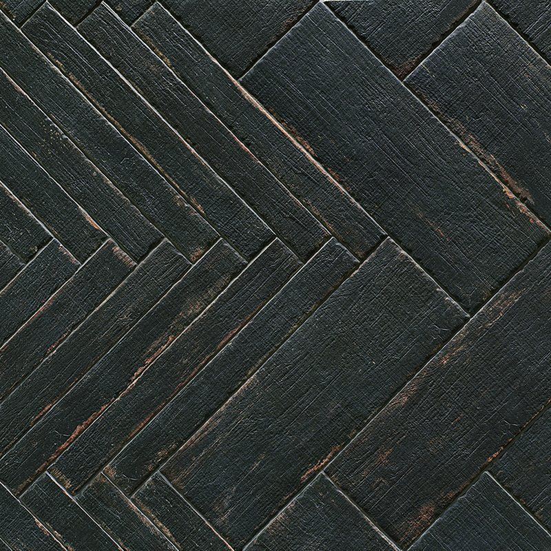 Rama 8 25 X 23 5 Porcelain Wood Look Field Tile In Black Reviews Allmodern Porcelain Flooring Wood Look Tile Tile Floor
