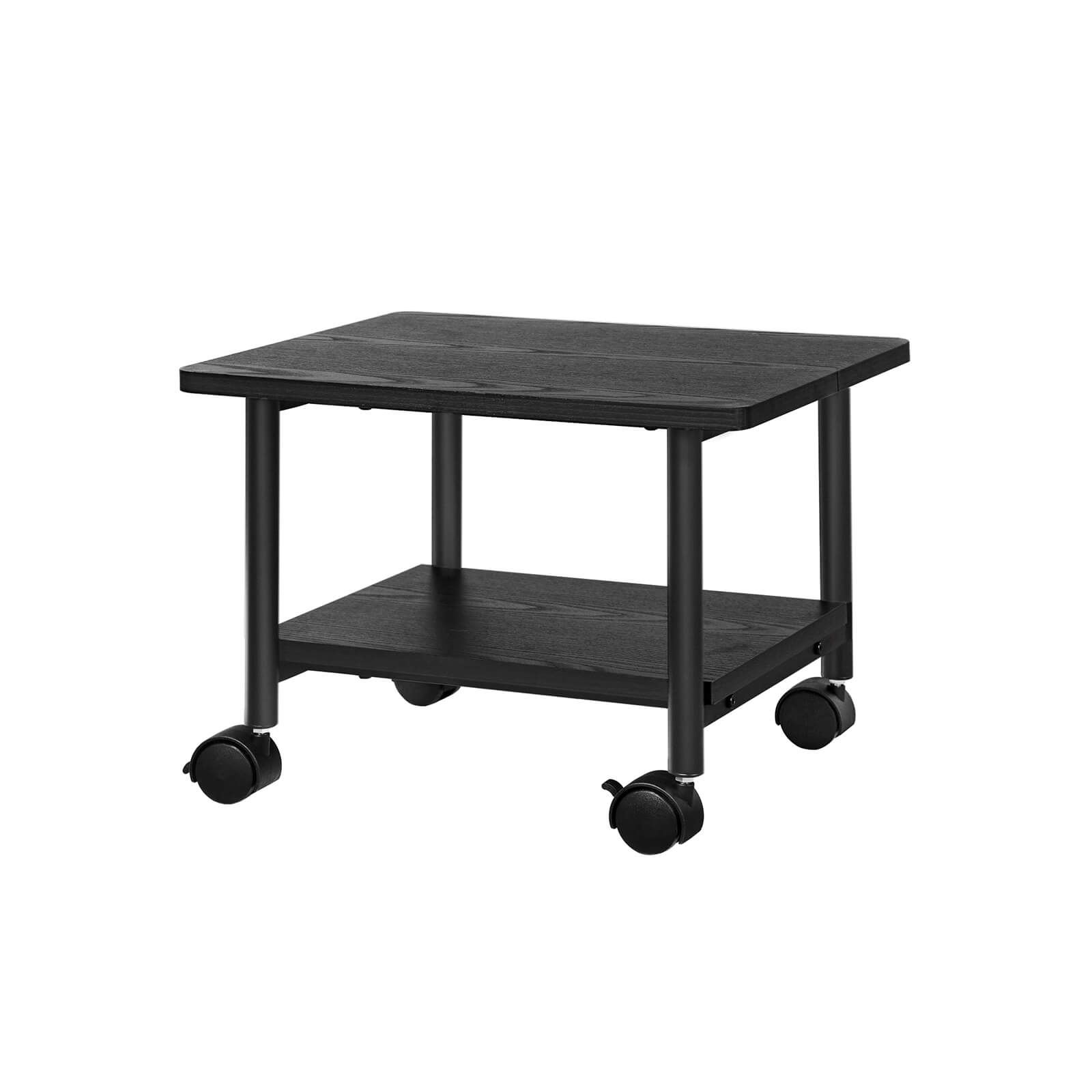 Under Desk Printer Stand Rolling Cart In 2020 Printer Stand Desk Under Desk Storage